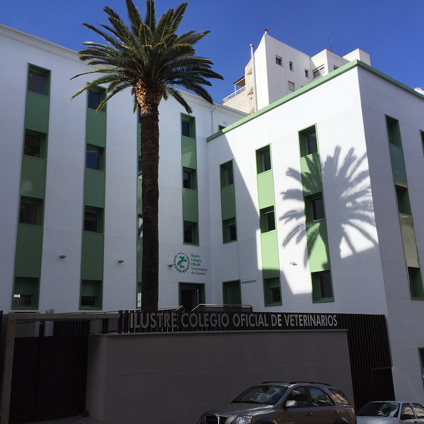 Nueva Sede del Ilustre Colegio Oficial de Veterinarios de Cáceres